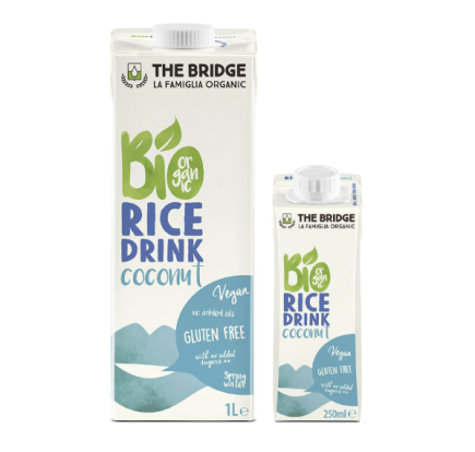 bio rice drink coconut
