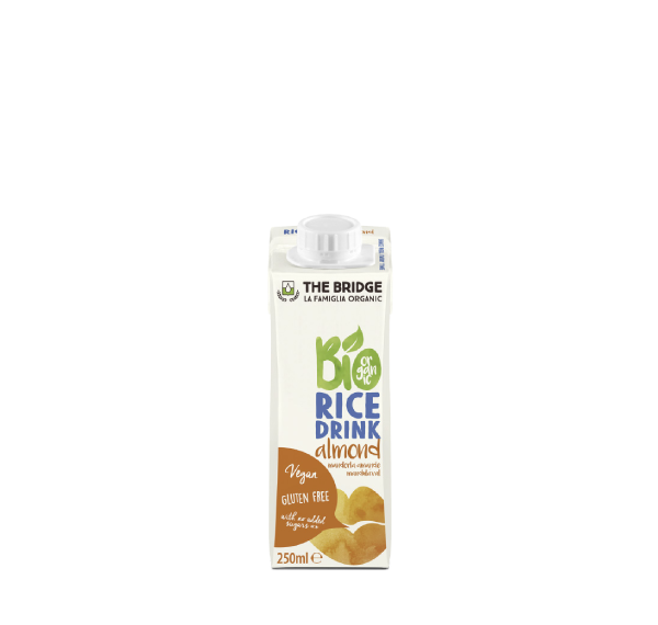 Rice almond mini drink